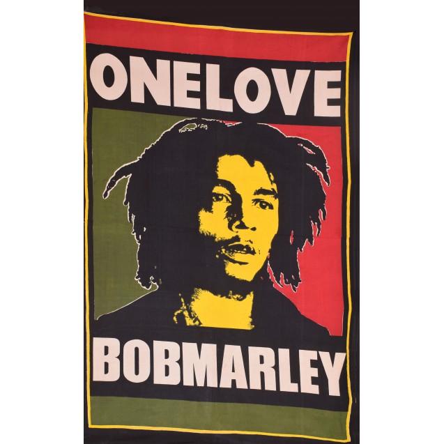 Покрывало Боб Марлей